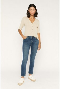 Denim Slim Leg Jean