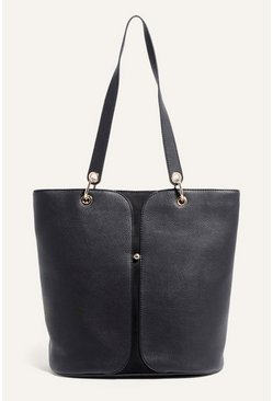Black Gold Stud Tote Bag