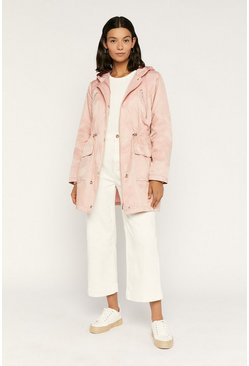 Pale pink Premium Raincoat