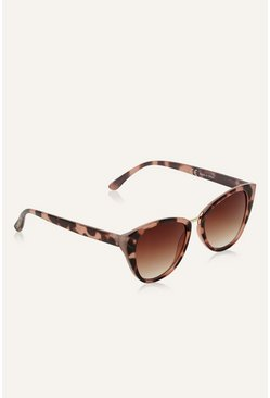 Chocolate Cateye Sunglasses