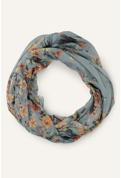 Multi French Farmhouse Floral Scarf