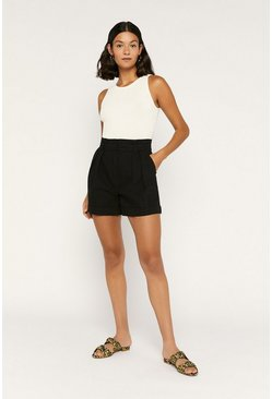 Black Paperbag Short
